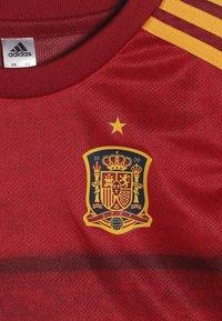 adidas Performance - SPAIN FEF HOME JERSEY - Sportovní kraťasy - red - 6