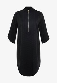 LILJA DRESS - Shirt dress - black