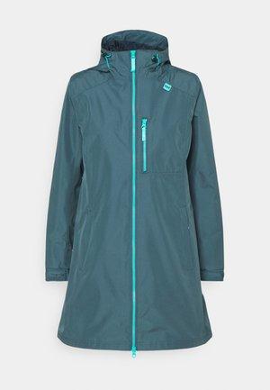 LONG BELFAST JACKET - Hardshell jacket - blue water