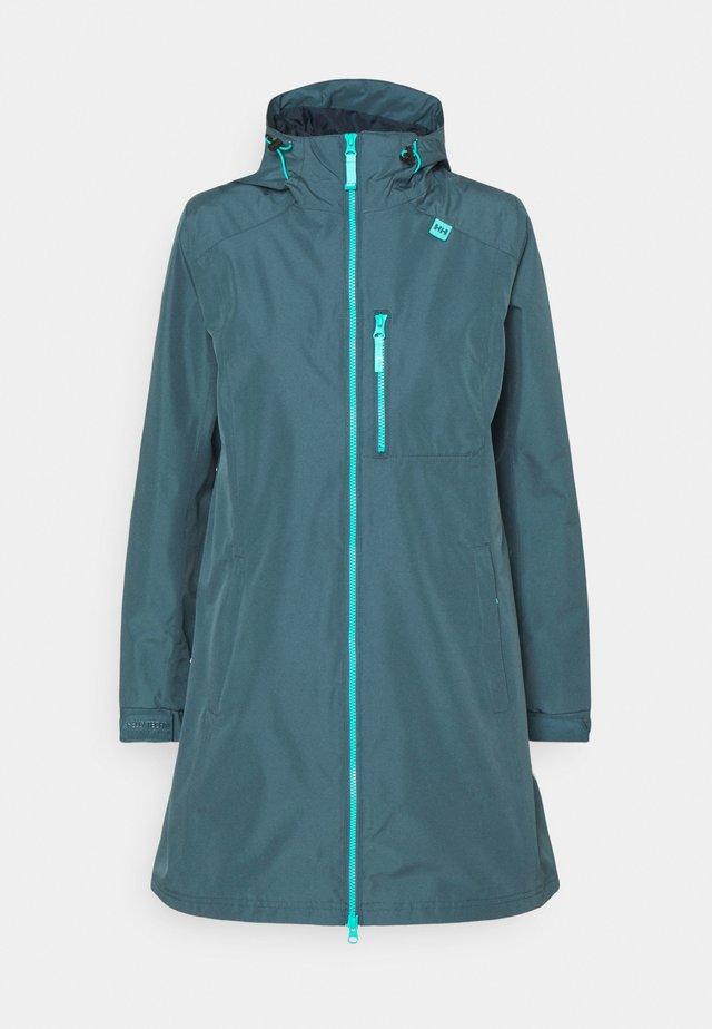 LONG BELFAST JACKET - Outdoor jacket - blue water
