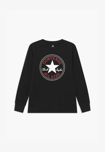 CHUCK PATCH LONG SLEEVE TEE UNISEX - Long sleeved top - black