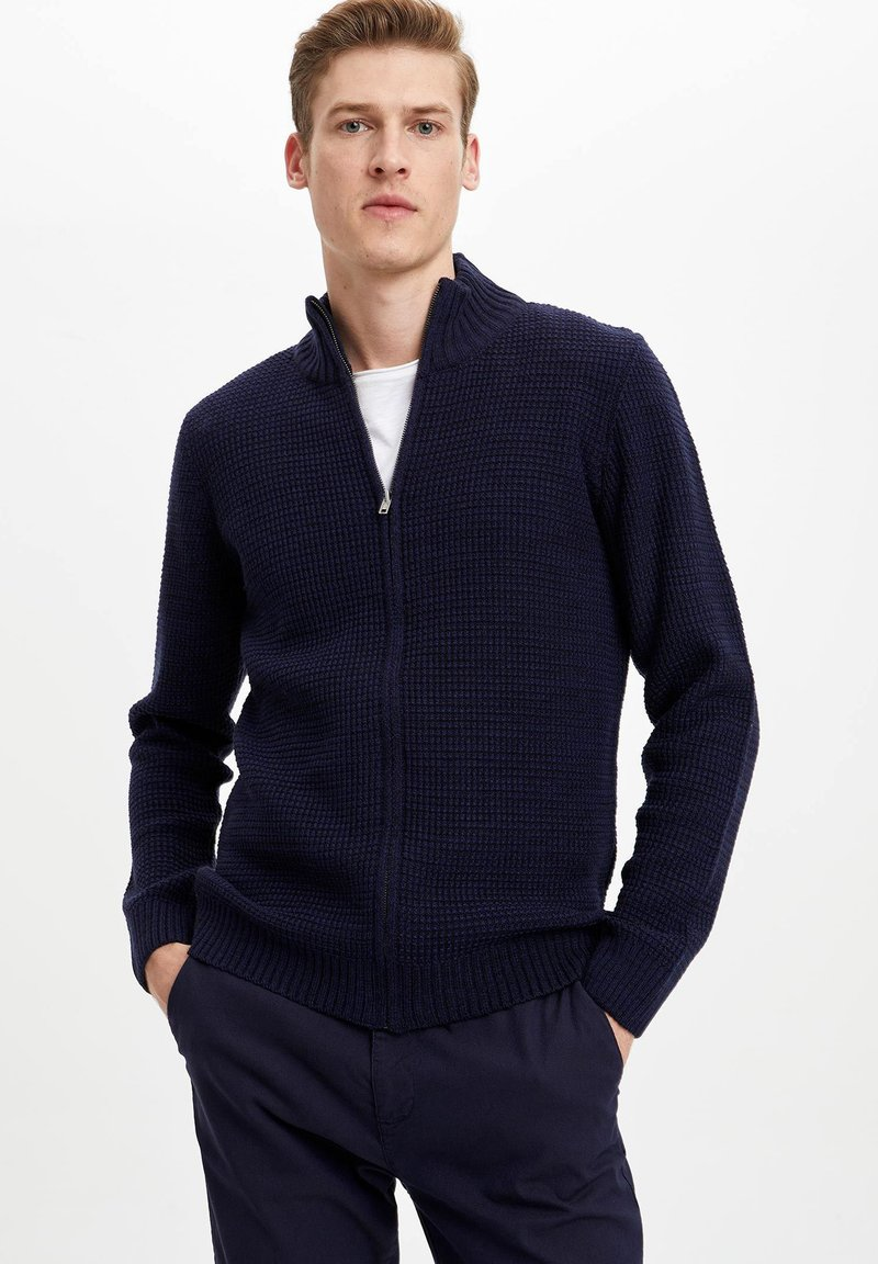 DeFacto - Strickjacke - navy