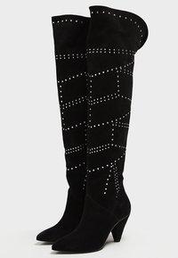 faina - Over-the-knee boots - black - 3