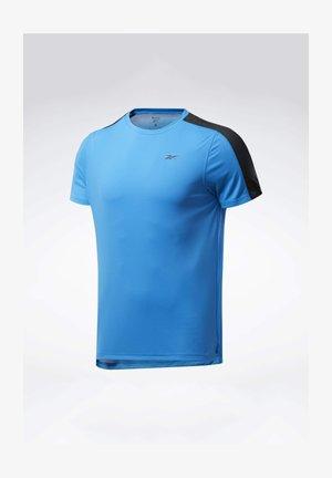 WORKOUT READY TECH TEE - Basic T-shirt - blue