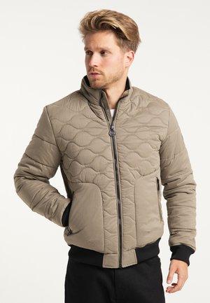Zimní bunda - dark cement