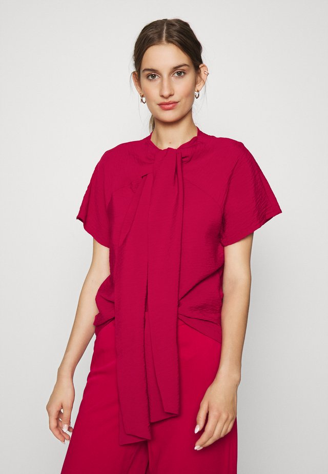 BLOUSE EVA - Bluzka - persian red
