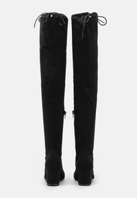 Miss Selfridge - OTIS BRICKS HIGH LEG VERSION - Over-the-knee boots - black - 3
