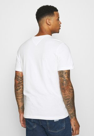 CHEST CORP TEE UNISEX - T-shirt z nadrukiem - white
