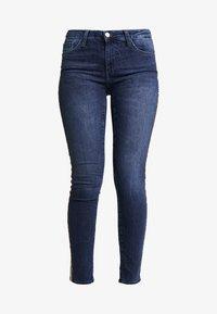 Rich & Royal - LEOPARD TAPE - Jeans Skinny Fit - denim blue - 3