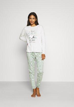 SNOOPY COTTAGE LONG - Pyjama - ecrus
