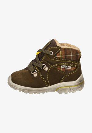 Baby shoes - army/schoko 592