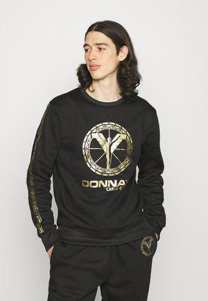 DONNAY X CARLO COLUCCI - Sweatshirt - black/gold