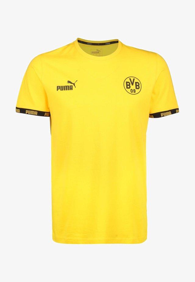 Voetbalshirt - Land - cyber yellow