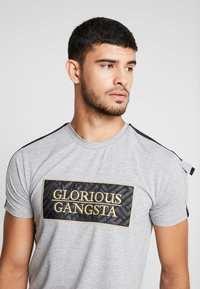 Glorious Gangsta - BAZLEY - T-Shirt print - grey marl - 3