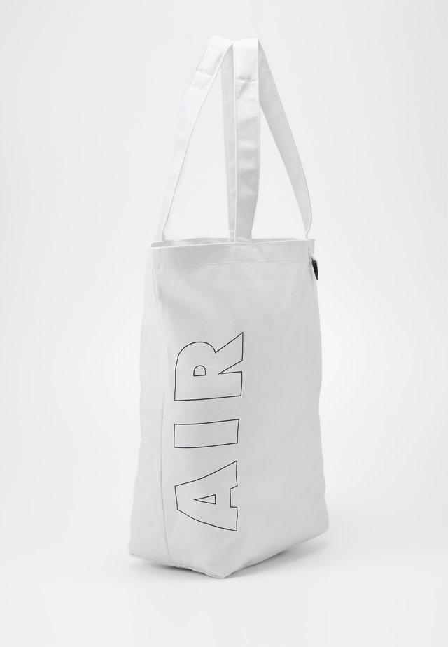 HERITAGE - Tote bag - white/white/black