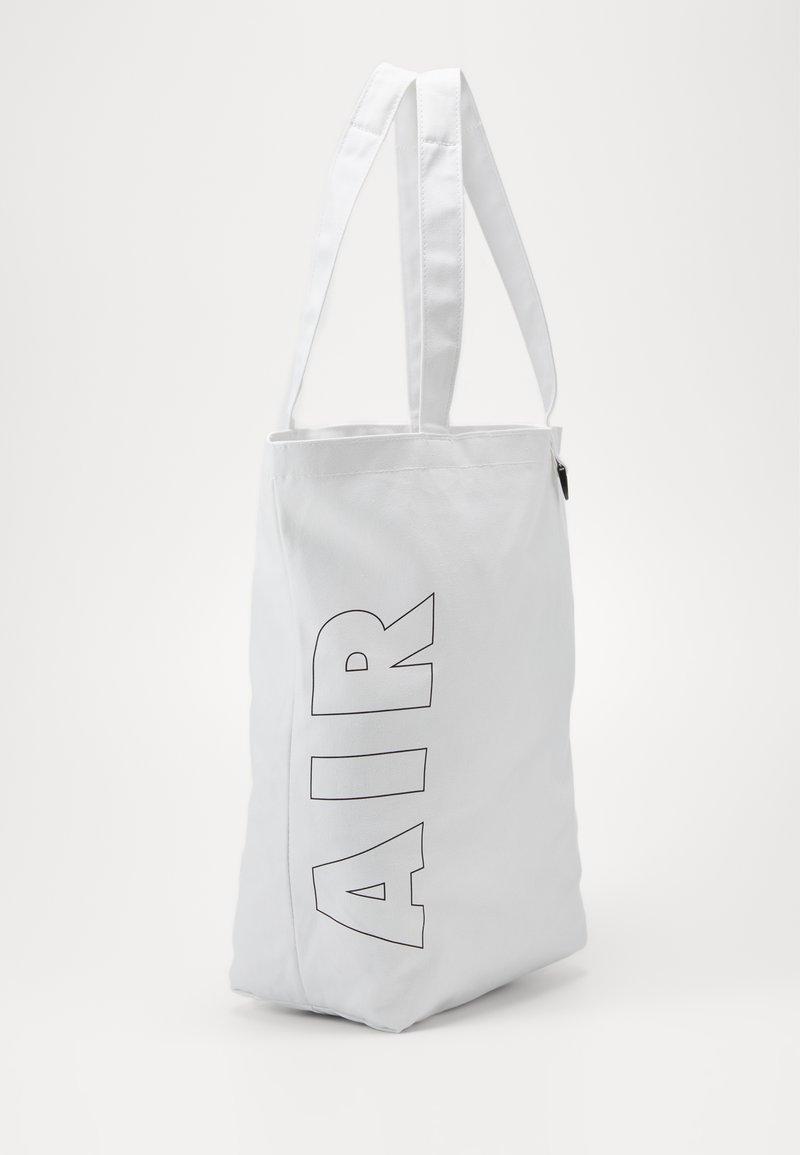 Nike Sportswear - HERITAGE UNISEX - Tote bag - white/white/black