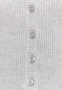 Even&Odd - Cardigan - mottled light grey - 5