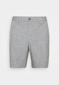 Club Monaco - BAXTER MICRO CHECK - Shorts - grey - 4