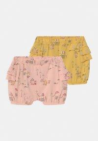 Name it - NBFHELGA BLOOMER 2 PACK - Shorts - ochre - 0