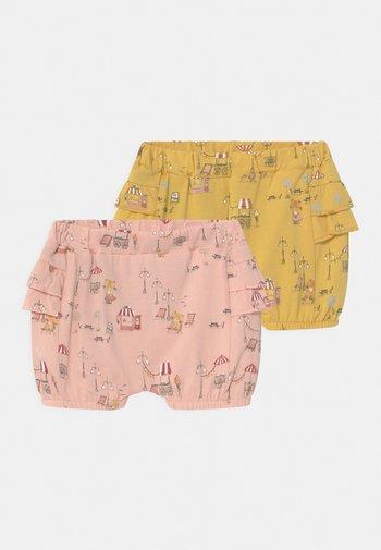 NBFHELGA BLOOMER 2 PACK - Shorts - ochre