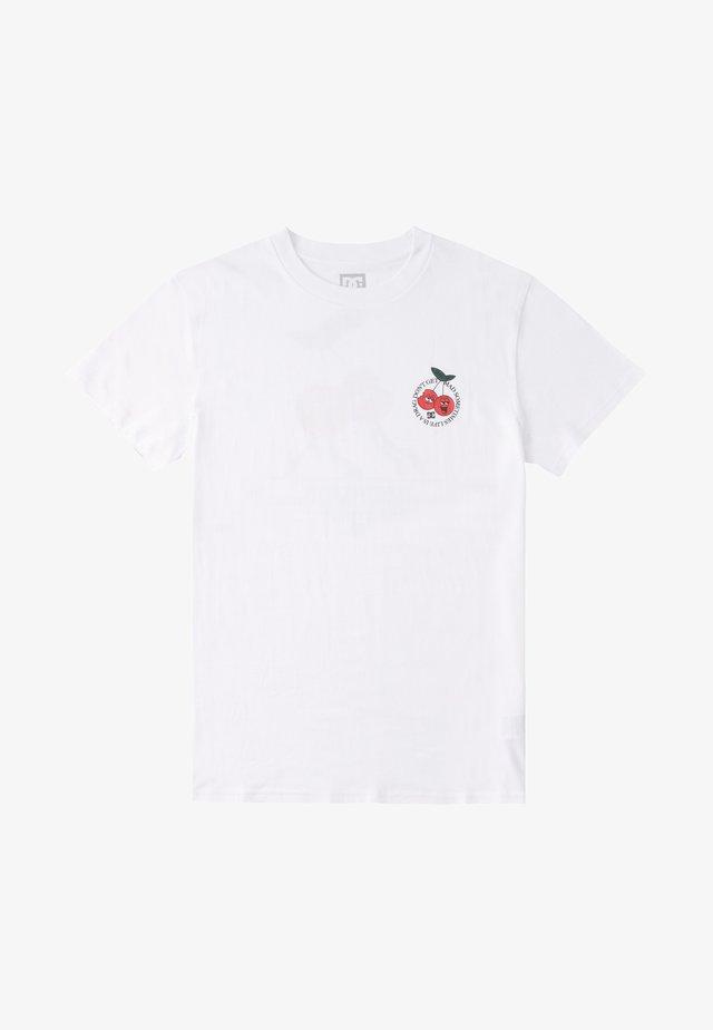 DONT GET MAD  - T-shirt imprimé - white