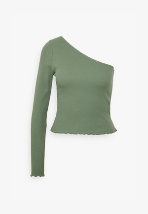 JANNI ONE SHOULDER  - Long sleeved top - laurel wreath