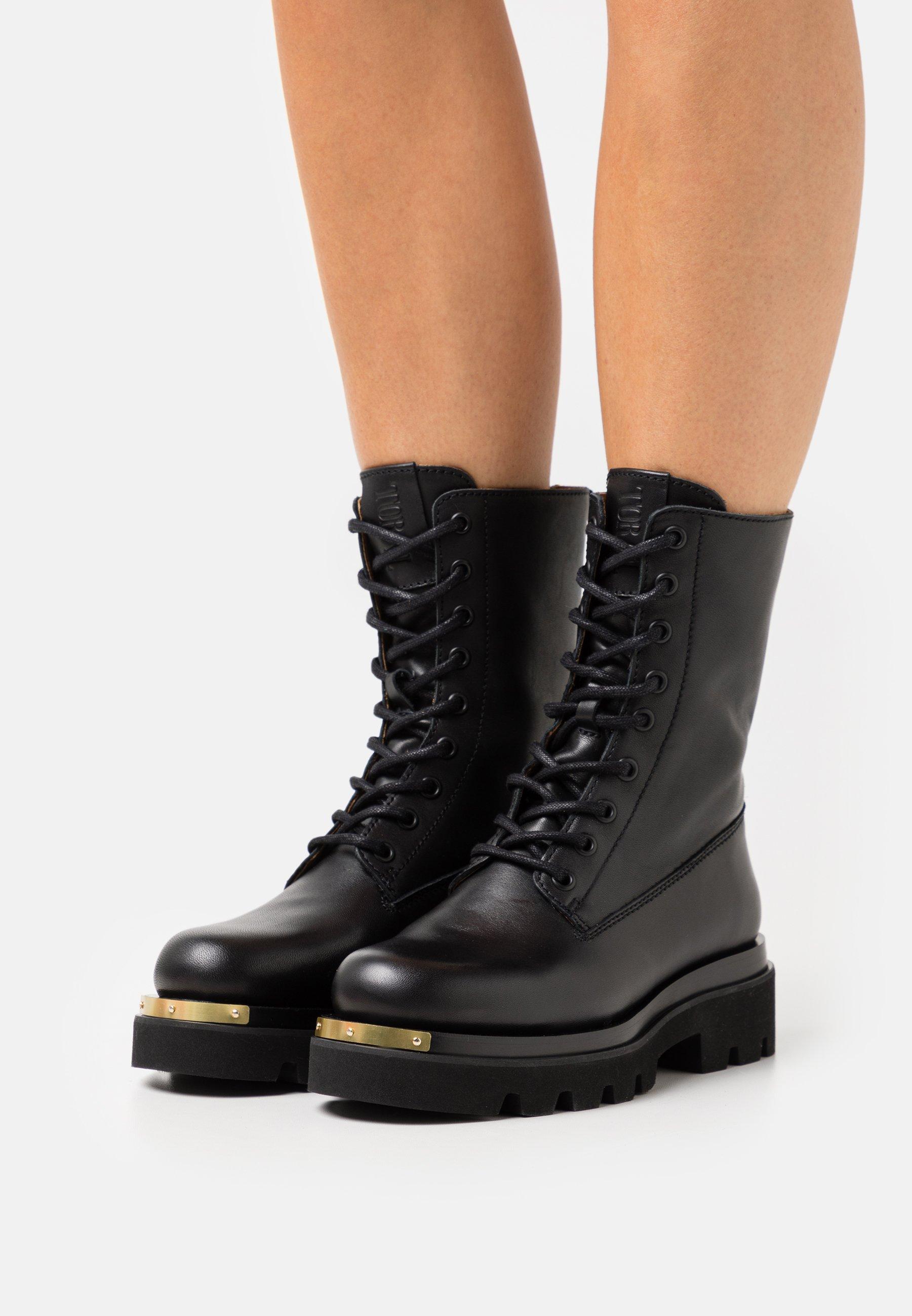 Women METAL - Platform ankle boots