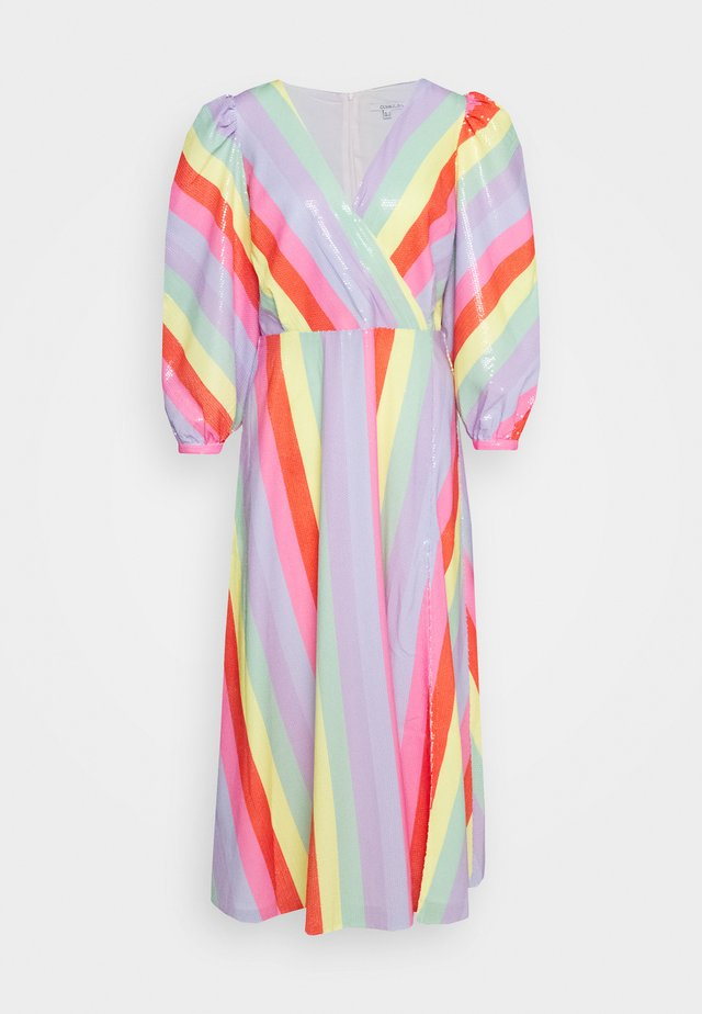 IMOGEN DRESS - Maxi šaty - fall stripe