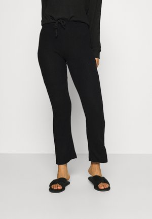 STINA TROUSERS - Pyjama bottoms - black