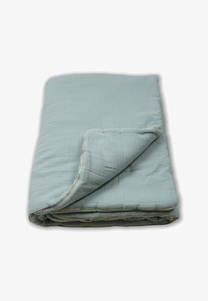 WITH BORDER - Baby blanket - light green