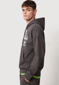 Napapijri - Hoodie - dark grey solid - 3