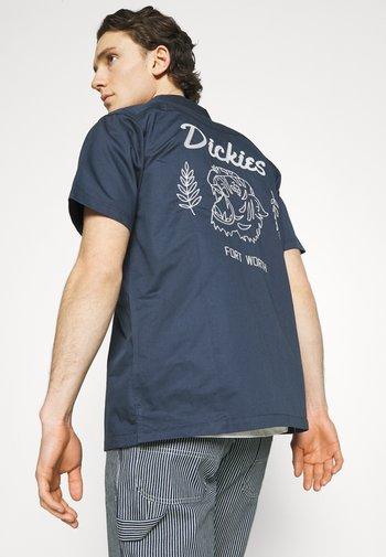 HALMA - Shirt - navy blue