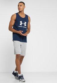 Under Armour - SPORTSTYLE LOGO TANK - Sports shirt - academy/white - 1