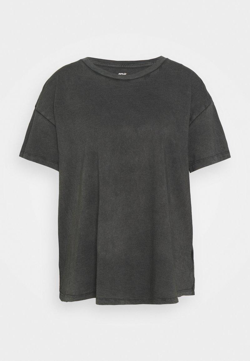 aerie - BASIC TEE - Basic T-shirt - grey shadow
