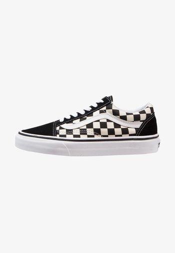 OLD SKOOL - Sneakers laag - black/white
