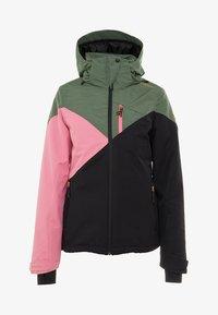 Brunotti - SHEERWATER WOMEN SNOWJACKET - Snowboard jacket - black - 8