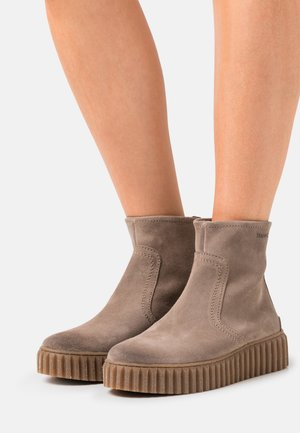 BIANCA  - Platform ankle boots - taupe
