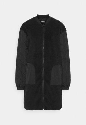ONLGILES JACKET LONG  - Classic coat - black