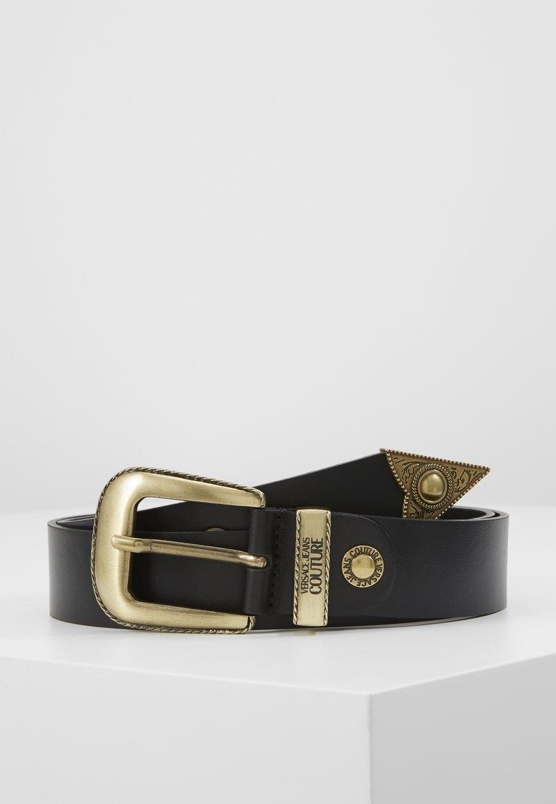 Versace Jeans Couture - BUCKLE - Riem - black