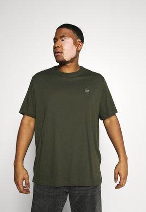 PLUS - Basic T-shirt - khaki