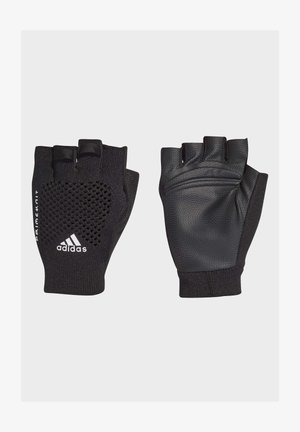 Fingerless gloves - black