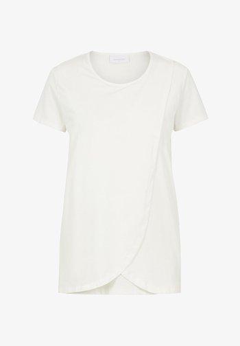 MLLEA - T-shirt basic - snow white