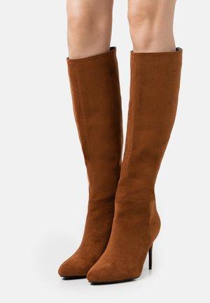 CURZON - Boots - tan