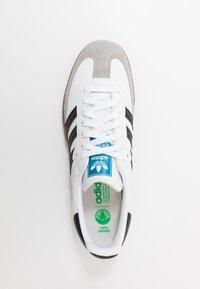 adidas Originals - SAMBA VEGAN - Tenisky - footwear white/core black - 3
