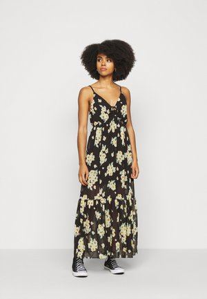 TRAPEZE  - Maxi dress - black