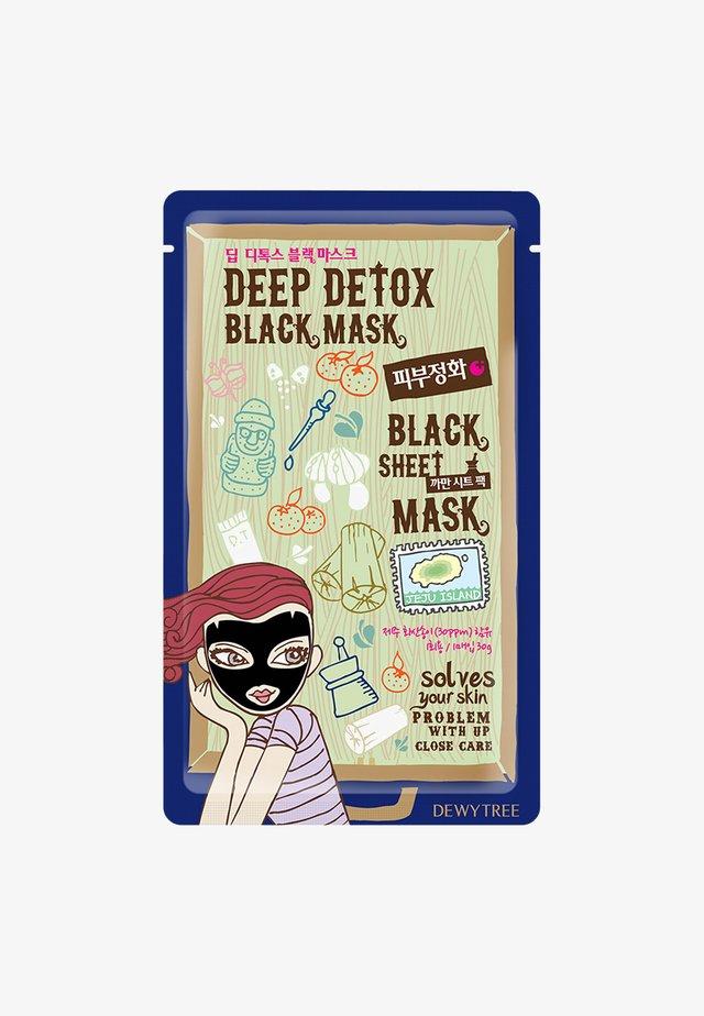 DEEP DETOX BLACKMASK - Masque visage - -