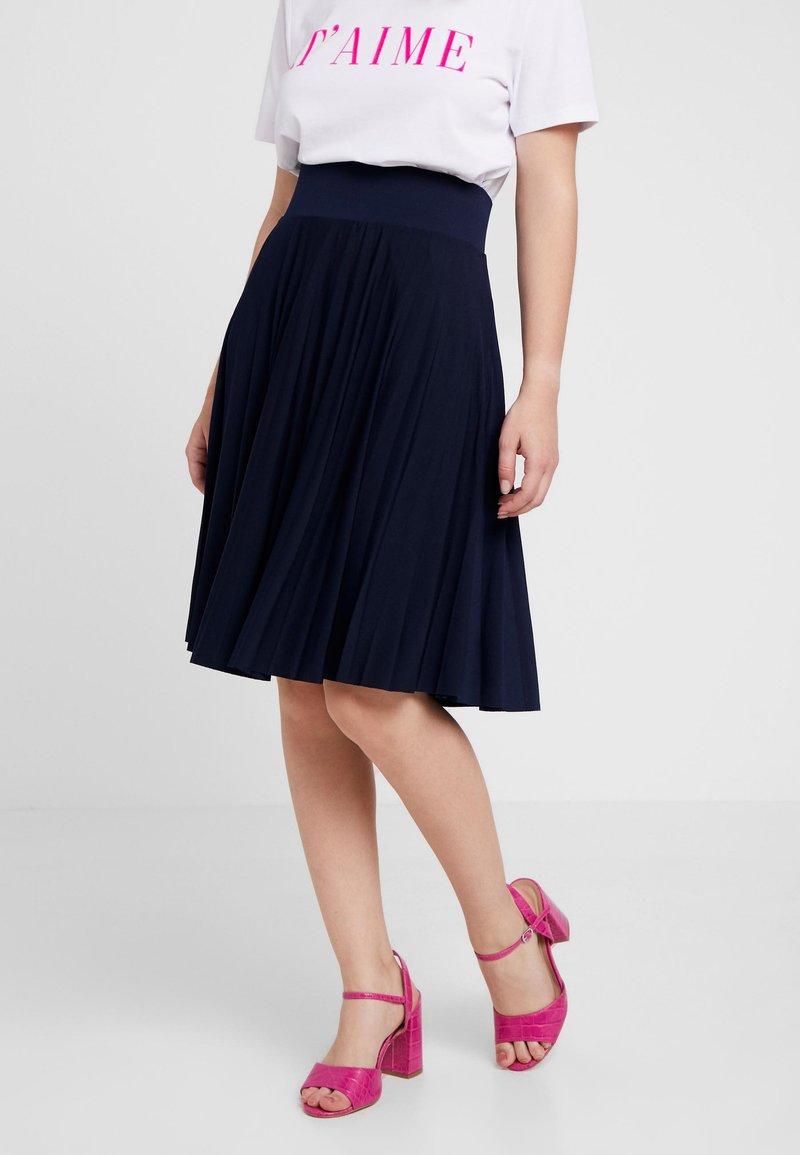 Anna Field Petite - A-line skirt - maritime blue