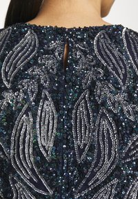 Lace & Beads - PICASSO LEAF - Top - navy - 4