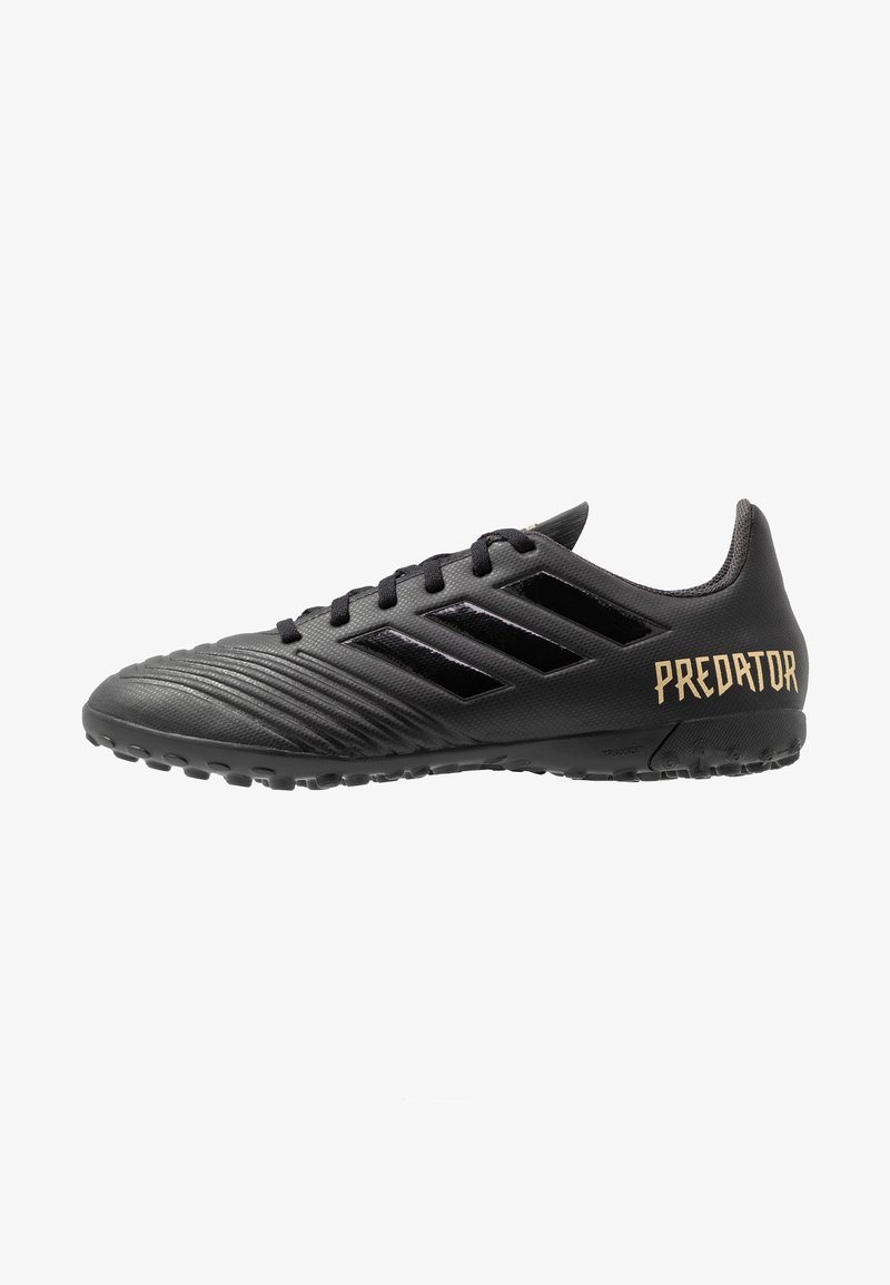adidas Performance - PREDATOR 19.4 TF - Voetbalschoenen voor kunstgras - core black/utility black