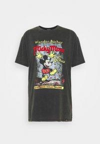 Desigual - VINTAGE MICKEY - T-shirts print - gris medio - 4